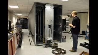 TimeLapse installation of Storagetek SL8500