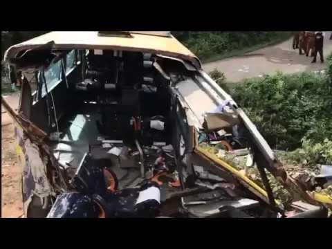 Fourteen killed, 16 injured in Pagoh bus crash
