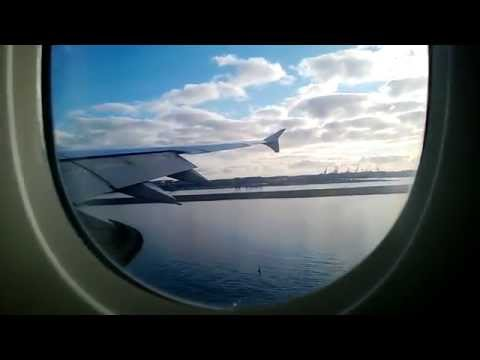 Emirates Airbus A380-800 landing at Sydney Kingsford Smith airport HD
