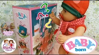 Baby Born Doll Videos| Opening Baby Born Advent Calendar 8th Surprise With Elly🎄It's A Bottle🍼🎁