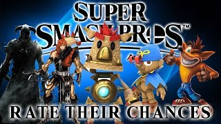Super Smash Bros Ultimate - Rate Their Chances [4] - Geno, Simon, Knack, Dragonborn and Crash!