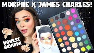 THE JAMES CHARLES PALETTE! Honest First Impressions, Swatches, & Review + Try On!