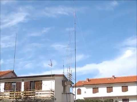 (4) Raising Telescopic 18 m Antenna EU170 (part 2)