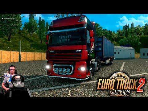 Конвой на Бородатом Дафе в Лаен | Euro Truck Simulator 2