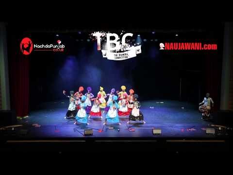 Gabru Furteley At Tbc 2014 (the Bhangra Competition) video