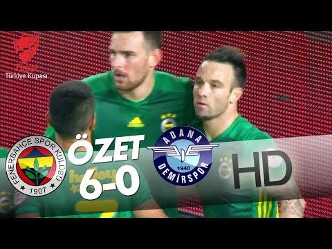 Fenerbahçe - Adana Demirspor Maçı Özeti