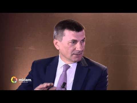 Keynote: Andrus Ansip, European Commission - Midem 2015