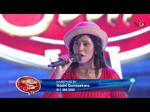Dream Star Season 07 | Final 36 ( 01st Group ) Tharushi Gimhani | 01-07-2017