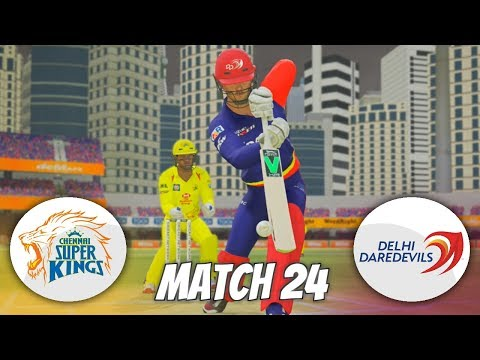 INDIAN PREMIER LEAGUE 3rd EDITION GAMING SERIES - MATCH 24 - CHENNAI SUPER KINGS V DELHI DAREDEVILS