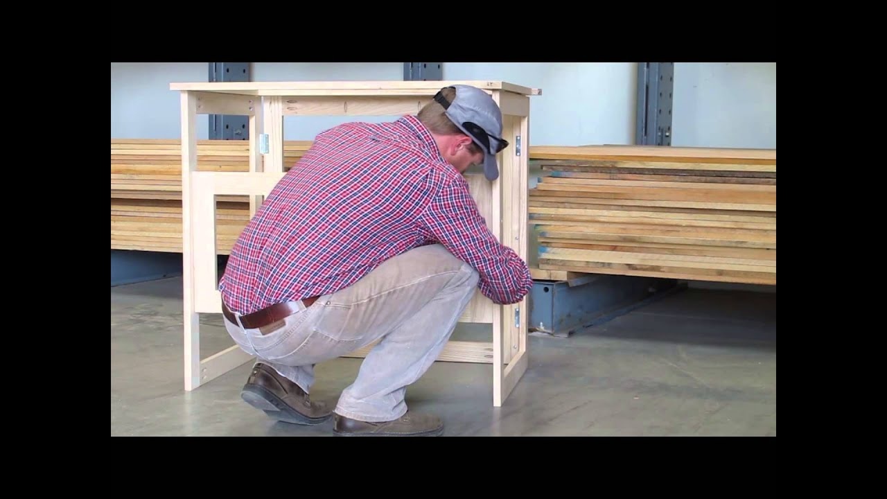 diy folding woodworking table with swapping tops for router table down draft sanding or work. Black Bedroom Furniture Sets. Home Design Ideas