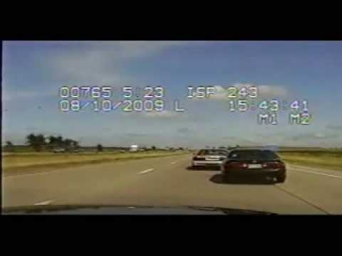 Dash-cam video of Iowa chase on Interstate 80 Music Videos