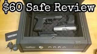 $60 Safe Review - Heritage Security Products