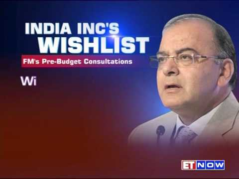 Pre-Budget Meeting: Finance Minister Arun Jaitley Meets India Inc