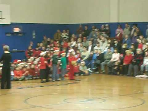 Christmas song at lafayette elementary school