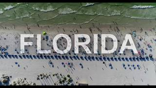 Best Places to Visit in Florida U.S.A 2017 Aerial View 4K