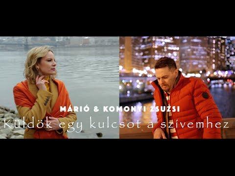 Márió & Komonyi Zsuzsi - Küldök Egy Kulcsot A Szívemhez (Official Music Video)