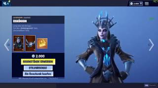 Fortnite ItemShop 21.02.2019 GOLD Ice Queen - Eiskönigin Skin | Magnus Skin | Renegade Skin