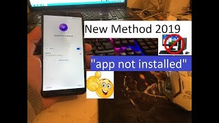 """New Method 2019 """"app not installed"""" All Huawei 2018 Remove Google Account Unlock FRP 100% working"""
