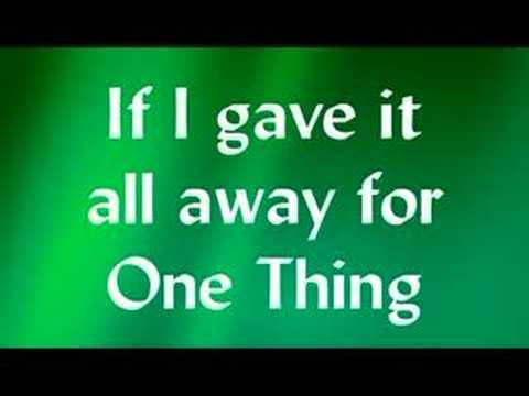 One Thing By Finger Eleven