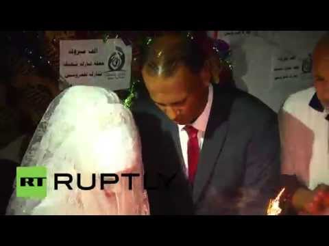 State of Palestine: Joy in Gaza as UN pays for Palestinian couple's wedding