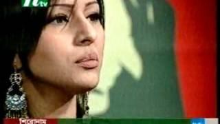 Bangladeshi model tinni chatting in ntv program     YouTube