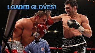 Did Carl Froch Load His Gloves Against Lucian Bute? Glove Controversy