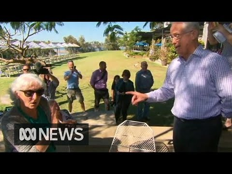 Angry voters confront Malcolm Turnbull ahead of by-election