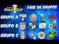 Así quedaron LOS GRUPOS de la #CopaOro2017