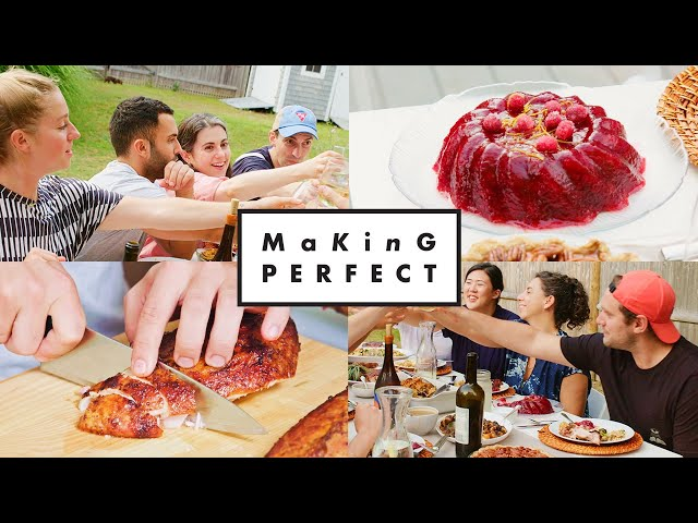 The BA Test Kitchen Makes the Perfect Thanksgiving Meal | Making Perfect: Thanksgiving Finale thumbnail