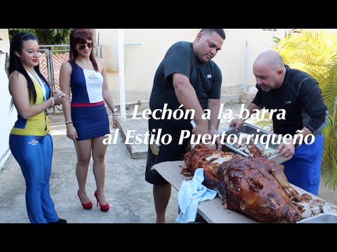 Lechon al Estilo Puertorriqueño!