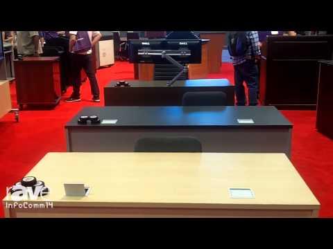 InfoComm 2014: VFI Talks About its Electric Lift Teacher Desk