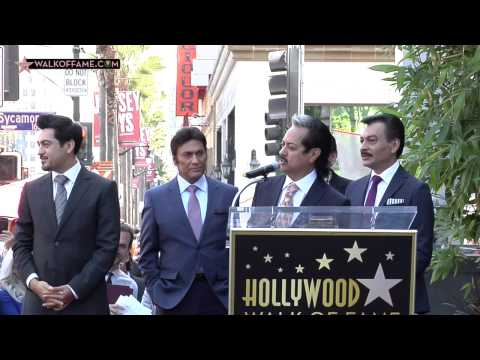 LOS TIGRES DEL NORTE HONORED WITH HOLLYWOOD WALK OF FAME STAR