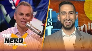Brady gets half the blame for Pats struggles, talks Browns, OBJ & more— Nick Wright | NFL | THE HERD