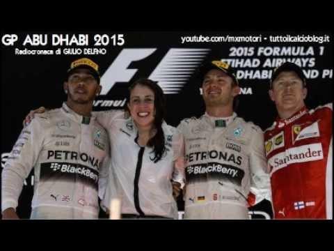 Gp ABU DHABI 2015 - Radiocronaca di Giulio Delfino (YAS MARINA) da Rai Radio 1