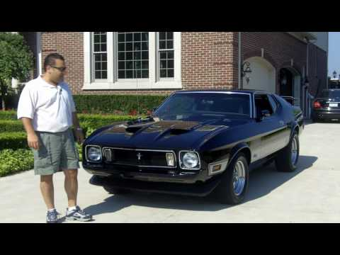 1973 Ford Mustang Mach 1 burn out Classic Muscle Car for sale in MI Vanguard Motor Sales