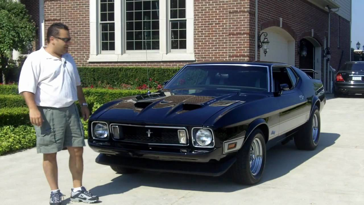 1973 Ford Mustang Mach 3 1973 Ford Mustang Mach 1 Burn