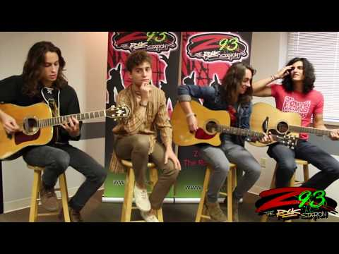Download Greta Van Fleet Performs 39You39re The One39 in the Z93 Studios