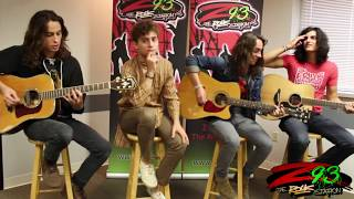 Greta Van Fleet Performs 39 You 39 Re The One 39 In The Z93 Studios