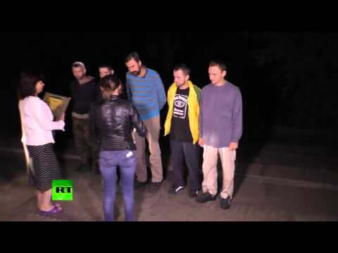 Ukraine prisoner exchange: Donetsk militia & Kiev forces swap
