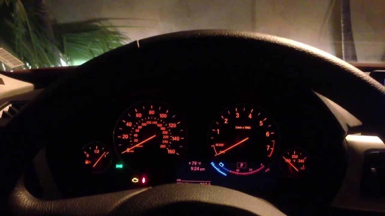 2013 Bmw 328i Sedan 4 Door Sport Interior Lighting With
