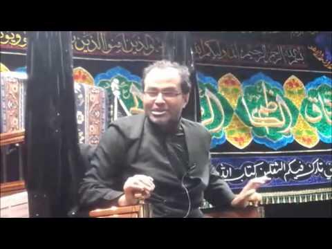 Maulana Qambar Ali Rizvi 8th Safar Birmingham (UK)