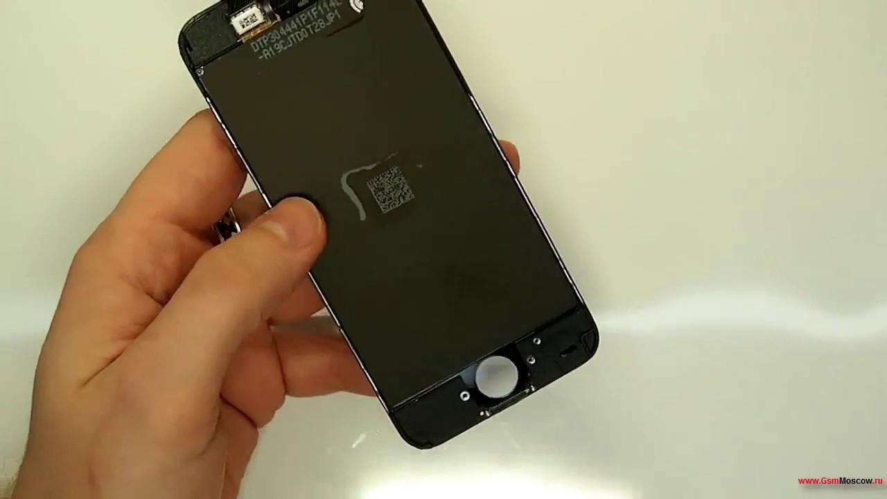 Замена стекла iphone 5c своими руками 10