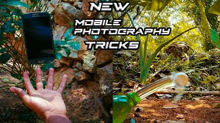 Top 5 amazing mobile photography tricks and tips with creative ideas step by step