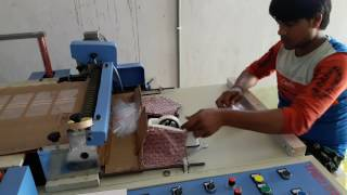Zip lock bag making machine