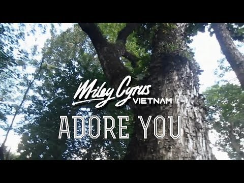 Miley Cyrus - Adore You (Miley Cyrus Vietnam Music Video)