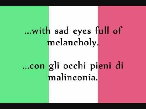Toto Cutugno - L'Italiano (Lyrics + English Translation)