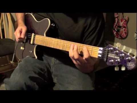 'hot For Teacher' - Van Halen (cover W  Backing Track) video