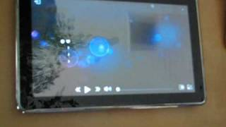 MeeGo Tablet on Intel Moorestown - Close-up Demo