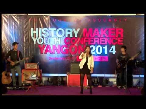 Me Me Khel @ History Maker Yangon 2014
