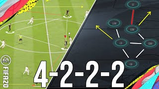 Why 4222 is the new META 3-1-2-4 Attacking Formation To Give You More Wins (Post Patch) - FIFA 20